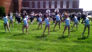 WHHS Marching Machine Chris Brown dance mix