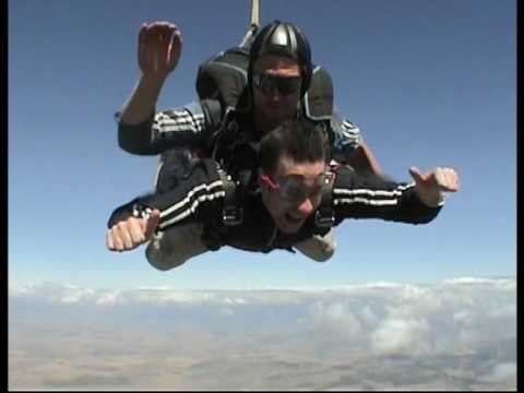 Skydiving in Cape Town, South Africa!