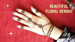 Mehndi Flower Designs Easy : Download ᴴᴰ best henna art mehndi designs jasa hena indo
