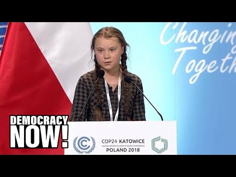 Download Video You Are Stealing Our Future: Greta Thunberg, 15, Condemns The World's Inaction On Climate Change