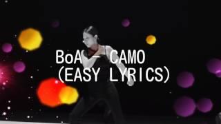 BoA - CAMO (EASY LYRICS)