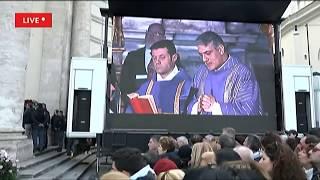 Addio a Fabrizio Frizzi - I funerali