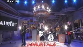Fall Out Boy - Immortals Live On Japan TV 2015