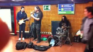 Nirvana Lithium cover Metro Madrid