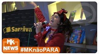 Aline Barros - Pocket Show CD Tim-Tim por Tim-Tim na Saraiva - (#MKnãoPARA)