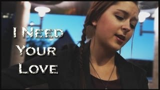 I Need Your Love | Calvin Harris feat. Ellie Goulding | Danielle Lowe Official Cover Music Video