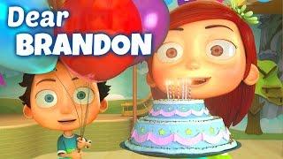 Happy Birthday Song to Brandon