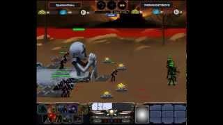 Stick Empires - SpartanOtaku vs THENAUGHTYBOYS
