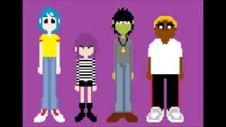 gorillaz - clint eastwood 8bit brothers remix