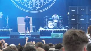 Bring Me The Horizon -  Can You Feel My Heart - Leeds Festival 2013