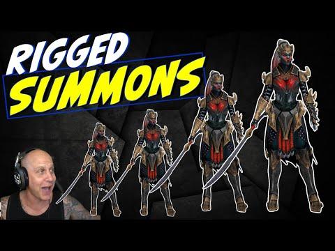 Wild weekend summons 10x Teela LOL - RAID SHADOW LEGENDS
