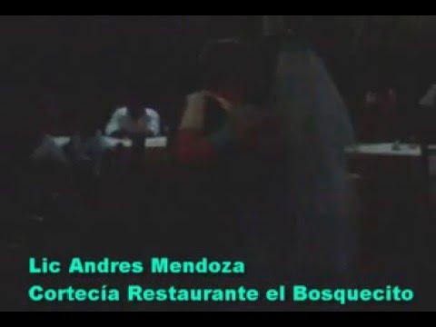 Lic Andres Mendoza Bravo. Restaurante el Bosquecito Camoapa Nicaragua