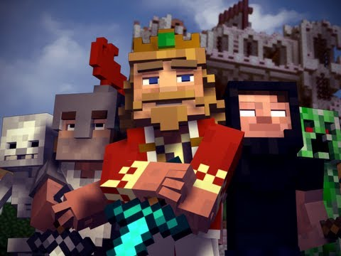 """Fallen Kingdom"" - A Minecraft Parody of Coldplay's Viva la Vida (Music Video)"