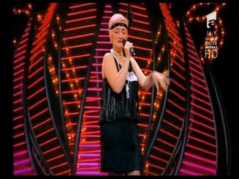 Coregrafie, costumaţie şi muzica bună. Vezi interpretarea Nicoletei Negru, la X Factor!