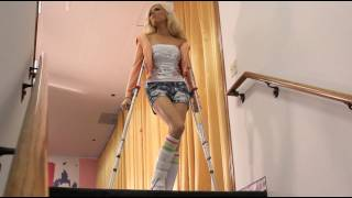 AMIClubwear : How to Deal with a Sprained Ankle & enjoy the down time!!!!