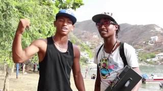 Invitación a la Fiesta del Mar por parte de raperos de Taganga