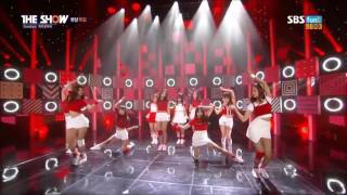 IOI-VERY VERY VERY LIVE @THE SHOW SBS 161018