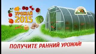 Теплицы Уралочка (установка осенью)