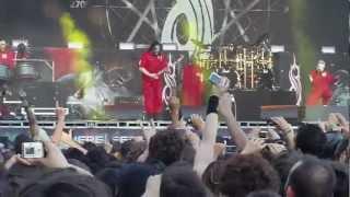 Sid Wilson si butta tra la gente al Sonisphere a Imola!!!!!!!!!