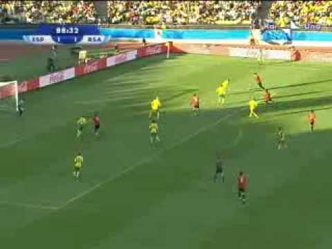 Spagna – Sud Africa 3-2 del 28.06.09 Confederations Cup