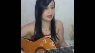 Luan Santana - Eu,Você o mar e ela (Cover Talita Cristina )