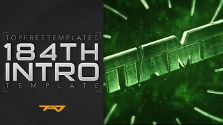 FREE Intro Template: 3D Green Space #184 + Tutorial