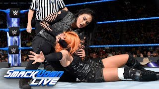 Charlotte Flair & Becky Lynch vs. Natalya & Tamina: SmackDown LIVE, July 11, 2017