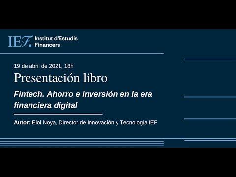 Presentación del libro Fintech. Ahorro e inversión en la era financiera digital