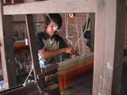Purna Kumar Rai weaving 1