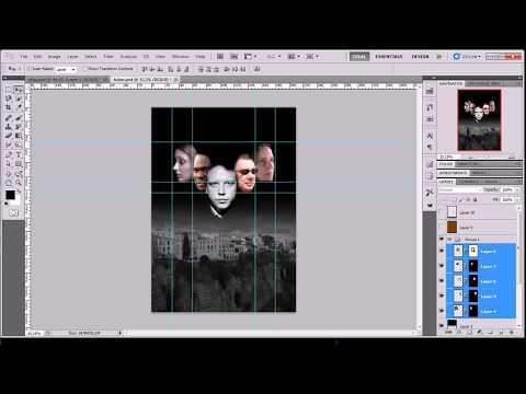 Adobe Photoshop Cs5 - Cs5.5 Afiş Tasarımı