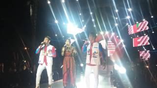 "RizkiRidho feat Ikke Nurjanah "" Kata Pujangga "" di KONSER HOT BANGET 21/1/2107"