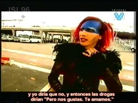 Marilyn Manson entrevista Channel V, Big Day Out Festival 99'. (Subtitulos Español)