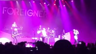 "Foreigner - ""Waiting for a girl like you"" Palladium London 2016"