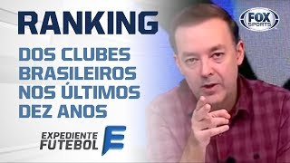 NOVA ERA? Confira o Ranking do futebol brasileiro