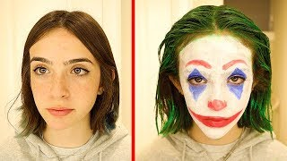 BECOMING JOKER...AND SCARING MY FAMILY!!
