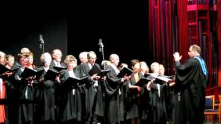 UNISA graduation ceremony - choir