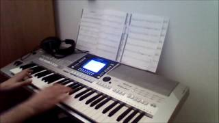 Interstellar Main Theme [Hans Zimmer] Keyboard Cover [PSR-S710]