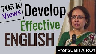 Develop Effective English by Prof Sumita Roy at IMPACT 2014 width=