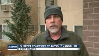 Documents show Fort Collins mosque vandalism suspect confessed