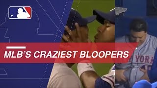 MLB Crazy Bloopers and Insane Plays