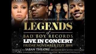 Legends of Bad Boy Records (Concert): Faith Evans, Mase, Carl Thomas, & Total
