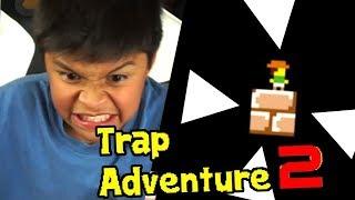 MI PRIMO PEQUEÑO SE ENOJA MUCHO CON ÉSTE JUEGO !! - Trap Adventure 2