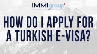 How do I apply for a Turkish e Visa?