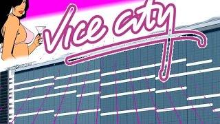 Italo Disco 80s Pop Music Making of in Fl Studio ♫ 80er RetroWave Hits | NEW VICE CITY (Aries Beats)