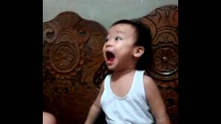 Walang Kwentang Kanta sung by my 1year old boy
