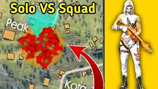 Insane Solo vs Squad Ranked Gameplay🔥😲//Free fire Tips & Tricks