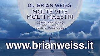 Dr. Brian Weiss in Italia il 25-26-27 Maggio 2018