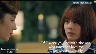 Nakhun's mother advised Kaning to divorce ll Princess Hours Thailand Ep17 English sub
