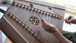 Harry Potter - Hedwig's Theme (hammered dulcimer/Hackbrett cover)