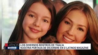 Thalía es la portada en el mes de diciembre de Dlatinos Magazine